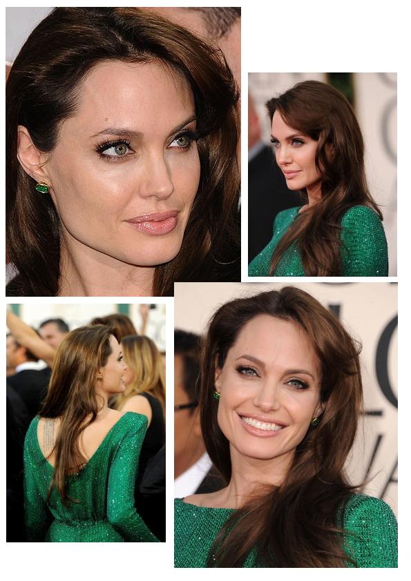 Top Golden Globes 2011-Angelina Jolie | Passion makeup XJ85